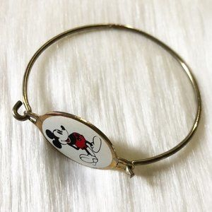 Vintage Mickey Mouse Hook Bracelet